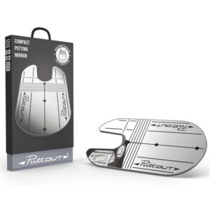 PuttOUT Compact Mirror with Carry Bag   Peter Field Golf Shop, Norwich